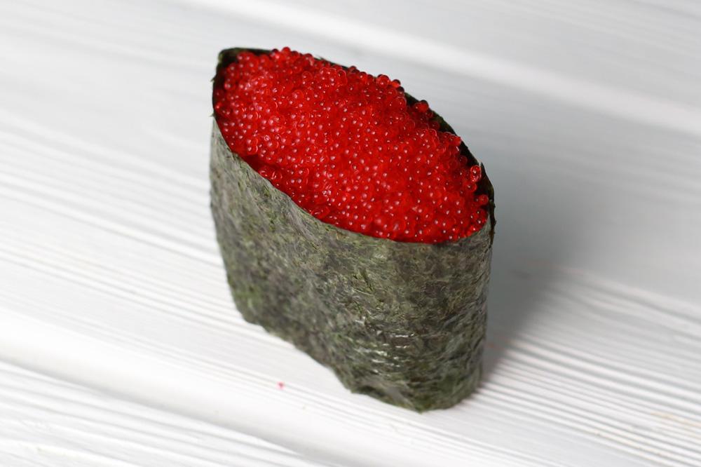 Что такое тобико в роллах и суши