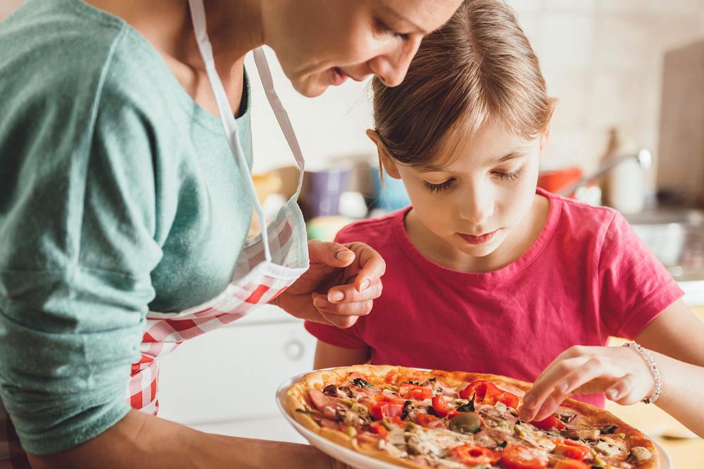 Детская пицца ингредиенты