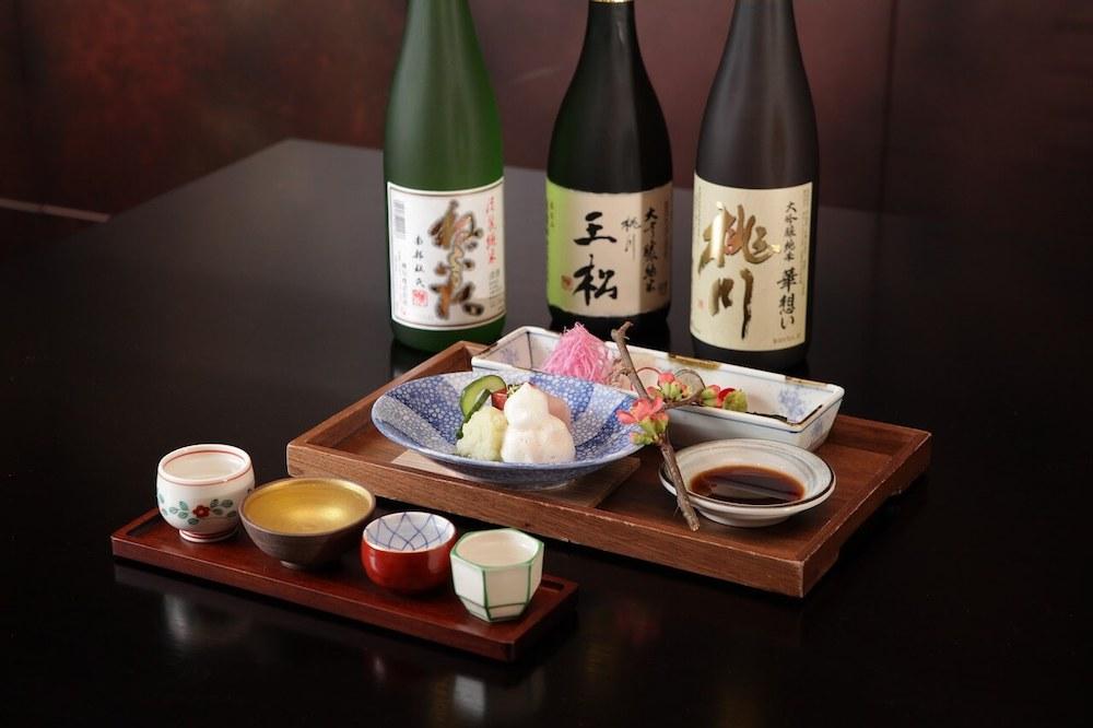 Напитки к суши и роллам