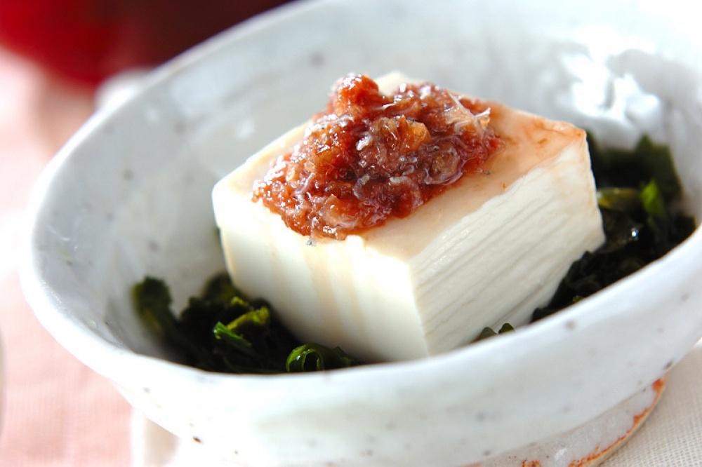 Соевый творог тофу – часть японской кухни