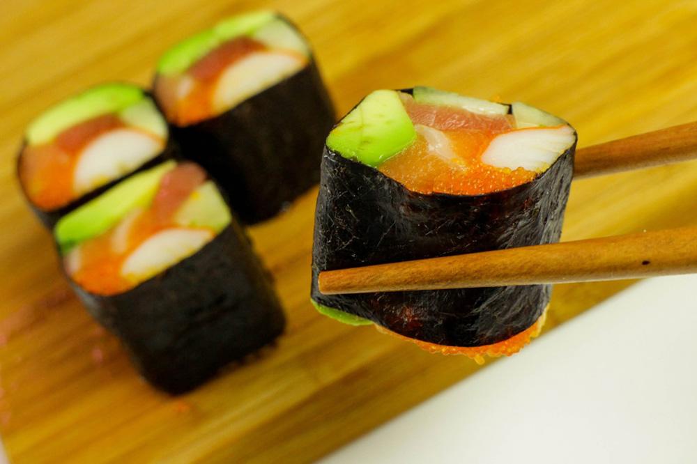 Бывают ли суши и роллы без риса