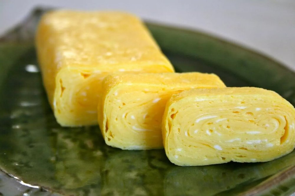 Виды рисового омлета по японски