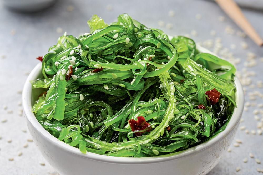 Водоросли в японской кухне: виды съедобных водорослей